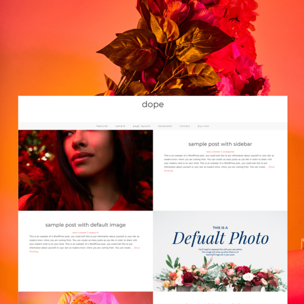 Dope - Premium WordPress Theme