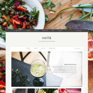 Voilà - Premium WordPress Theme