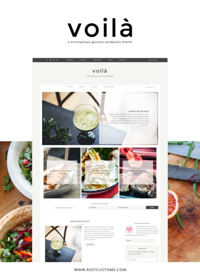 Introducing Voilà – A scrumptious Genesis Theme
